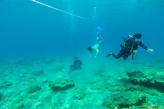 Kythnos Experience, Scuba Diving