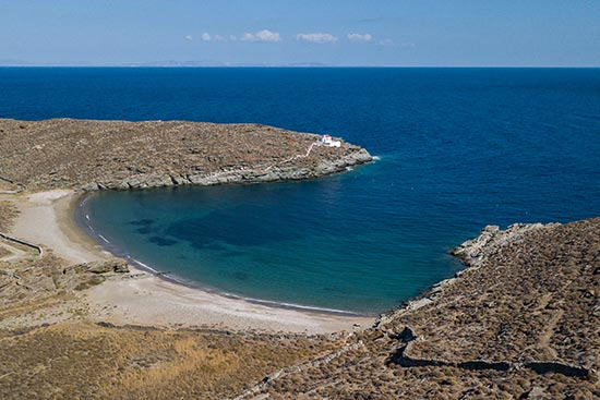 Agios Sostis Beach Natura 2000 Protected Area