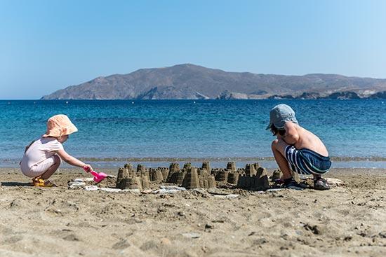 Eneos Beach Villas Agios Sostis Beach Sea Sun Kids
